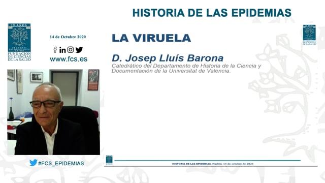 D. José Lluis Barona - LA VIRUELA