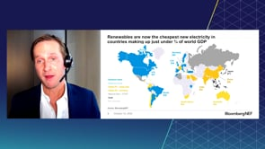 """Watch """"<h3>BNEF Talk: New Energy Outlook 2020 by Seb Henbest, Chief Economist. BloombergNEF</h3>"""""""