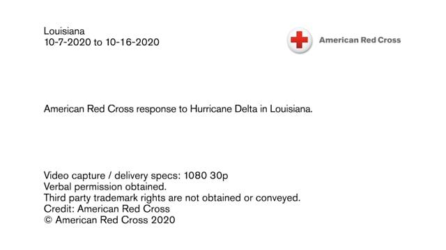 Disaster B-roll - Hurricane Delta