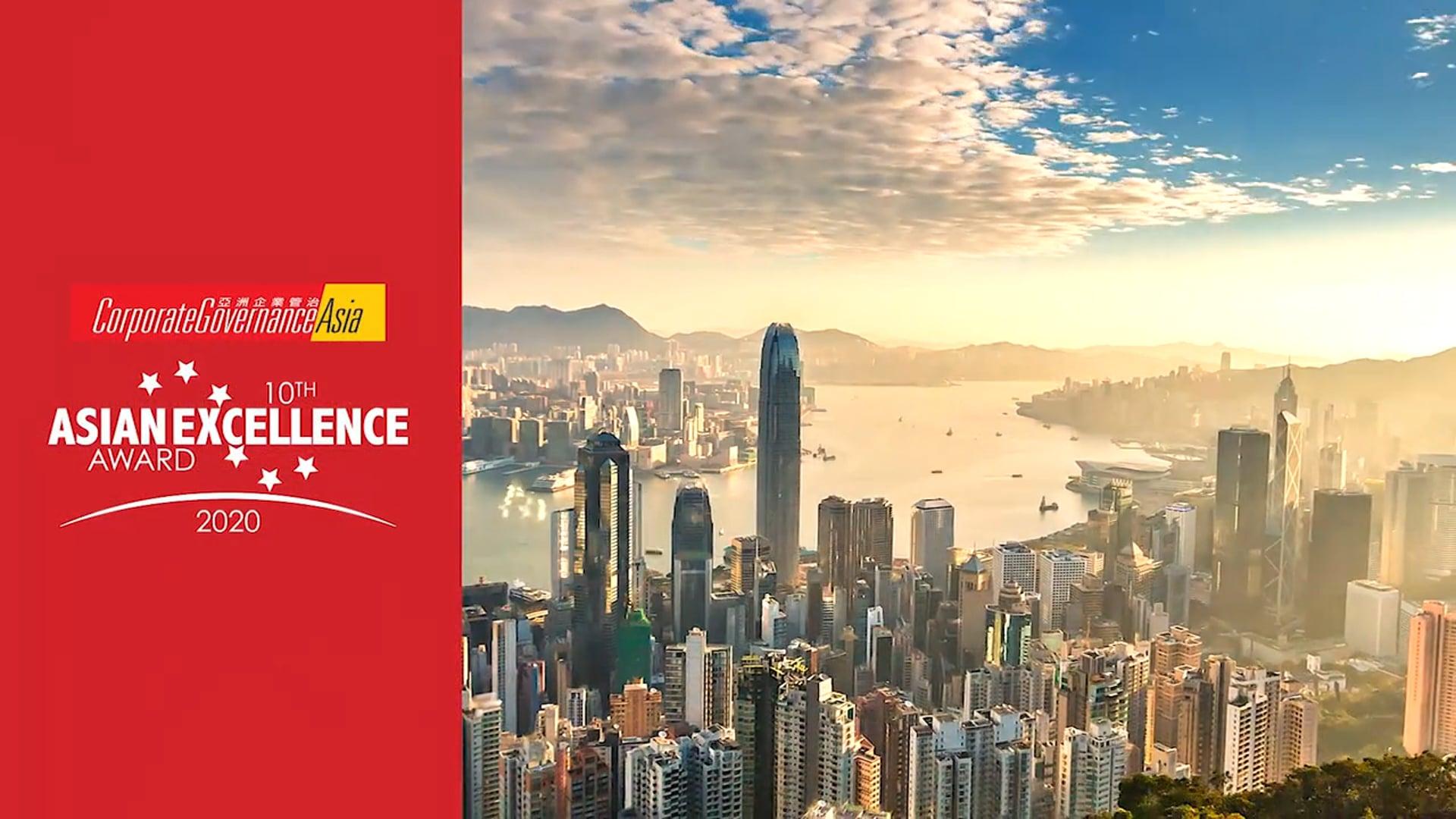 Hong Kong Awardees 2020