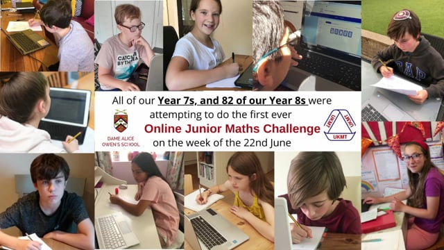 Maths - Dame Alice Owen's School