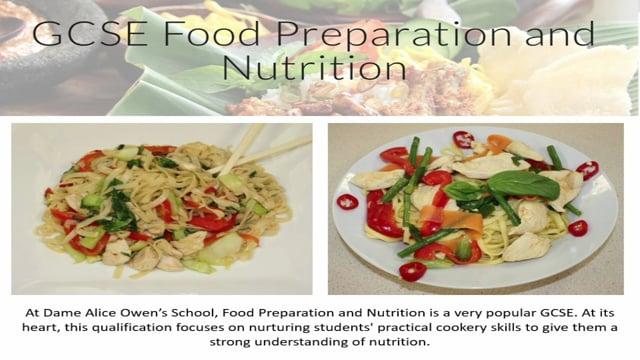 Food Tech - Dame Alice Owen's School