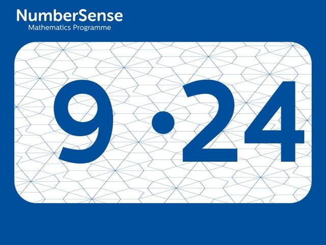 NumberSense Manipulating Numbers: Level 9, Task 24 (Gr.3, T.1, Wkbk 9)