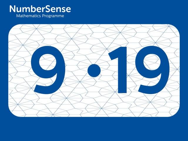 NumberSense Manipulating Numbers: Level 9, Task 19 (Gr.3, T.1, Wkbk 9)