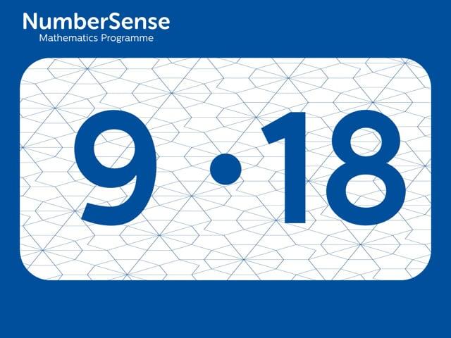 NumberSense Manipulating Numbers: Level 9, Task 18 (Gr.3, T.1, Wkbk 9)