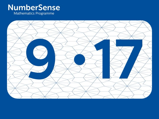 NumberSense Manipulating Numbers: Level 9, Task 17 (Gr.3, T.1, Wkbk 9)