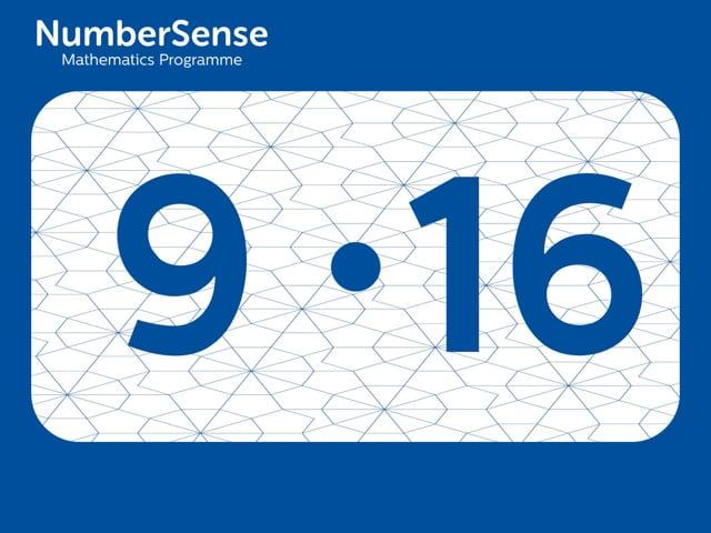 NumberSense Manipulating Numbers: Level 9, Task 16 (Gr.3, T.1, Wkbk 9)