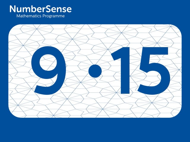 NumberSense Manipulating Numbers: Level 9, Task 15 (Gr.3, T.1, Wkbk 9)