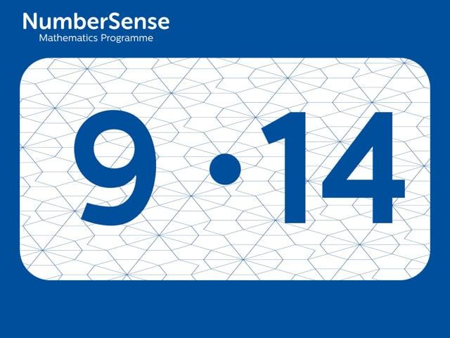 NumberSense Manipulating Numbers: Level 9, Task 14 (Gr.3, T.1, Wkbk 9)