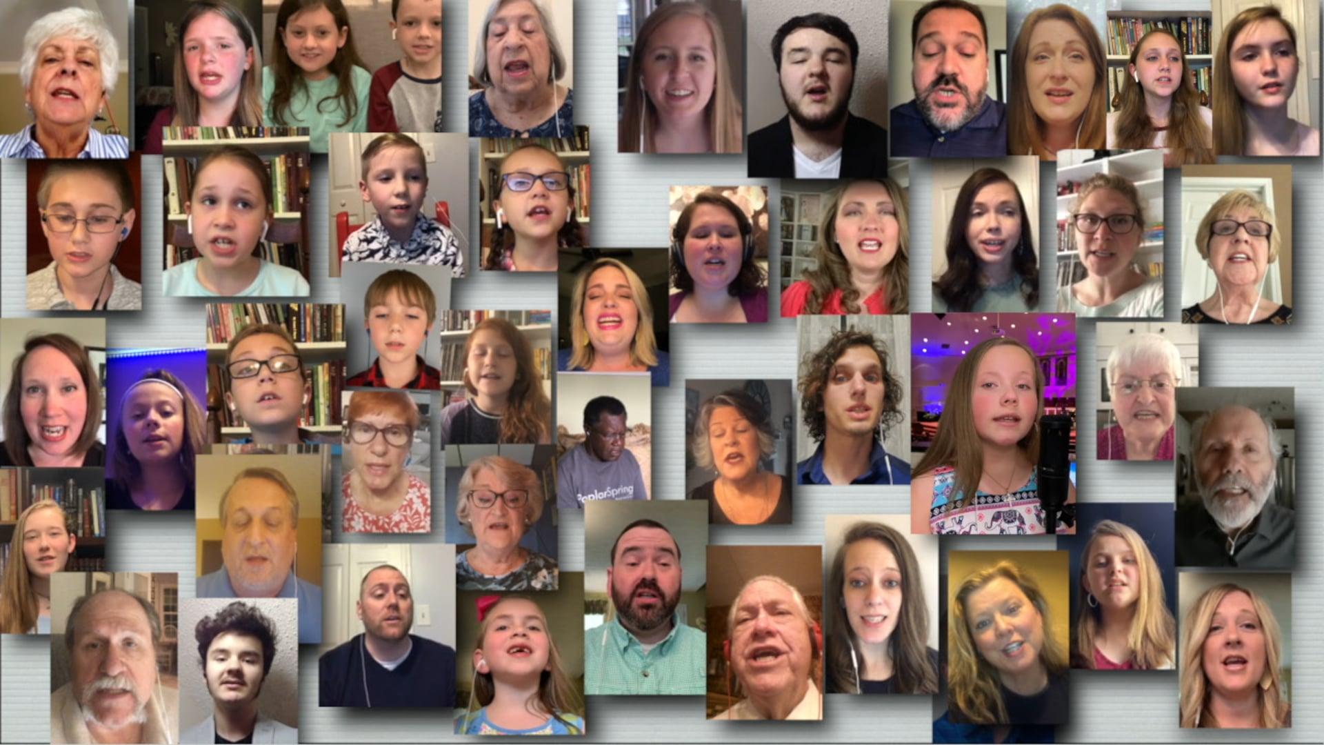 Tis So Sweet - Poplar Springs Choir