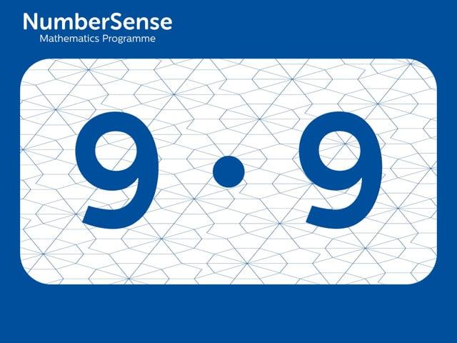 NumberSense Manipulating Numbers: Level 9, Task 9 (Gr.3, T.1, Wkbk 9)