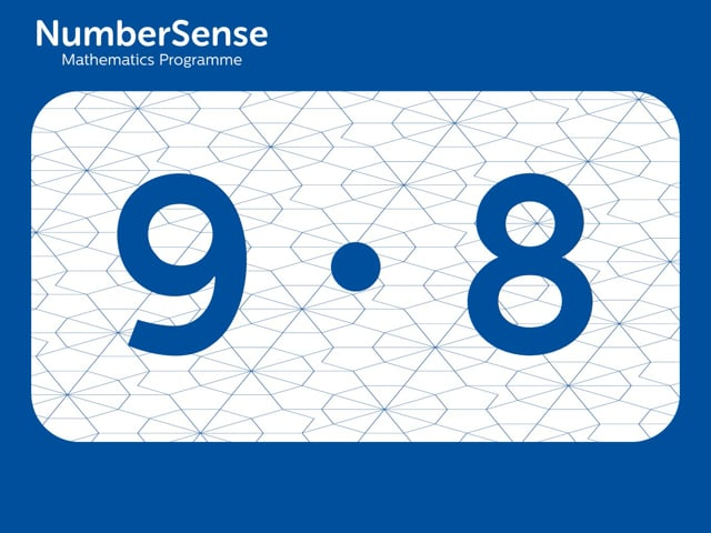 NumberSense Manipulating Numbers: Level 9, Task 8 (Gr.3, T.1, Wkbk 9)