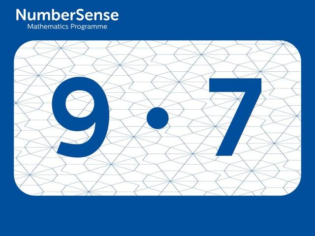 NumberSense Manipulating Numbers: Level 9, Task 7 (Gr.3, T.1, Wkbk 9)