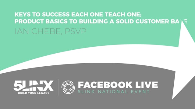 3703Product Basics: Build a Solid Customer Base with PSVP Ian Chebe