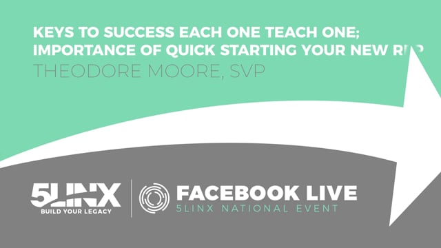3707The Importance of Quick Starting Your New Rep with SVP Theodore Moore