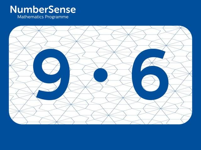NumberSense Manipulating Numbers: Level 9, Task 6 (Gr.3, T.1, Wkbk 9)