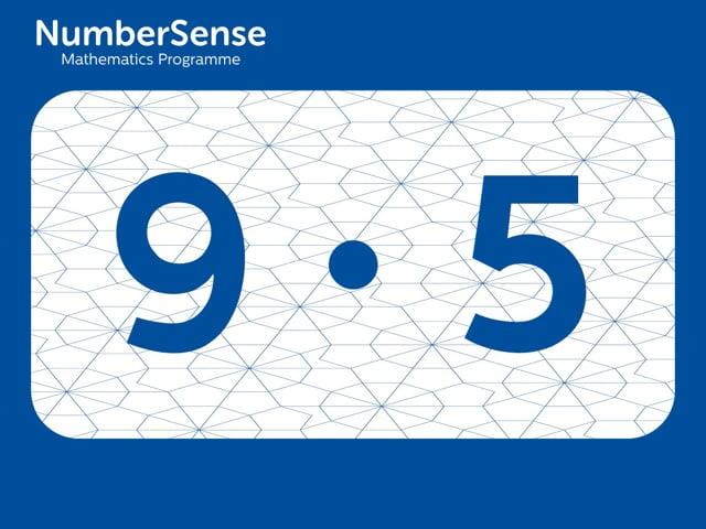 NumberSense Manipulating Numbers: Level 9, Task 5 (Gr.3, T.1, Wkbk 9)