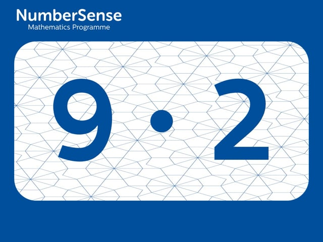 NumberSense Manipulating Numbers: Level 9, Task 2 (Gr.3, T.1, Wkbk 9)