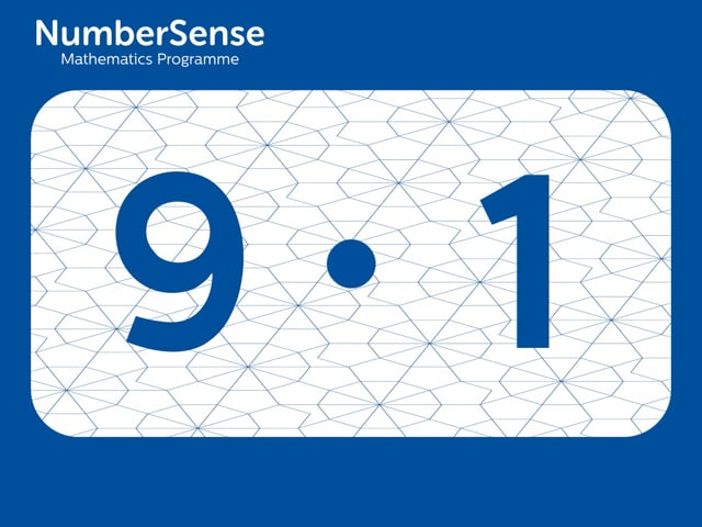 NumberSense Manipulating Numbers: Level 9, Task 1 (Gr.3, T.1, Wkbk 9)