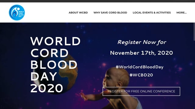 Quick - World Cord Blood Day