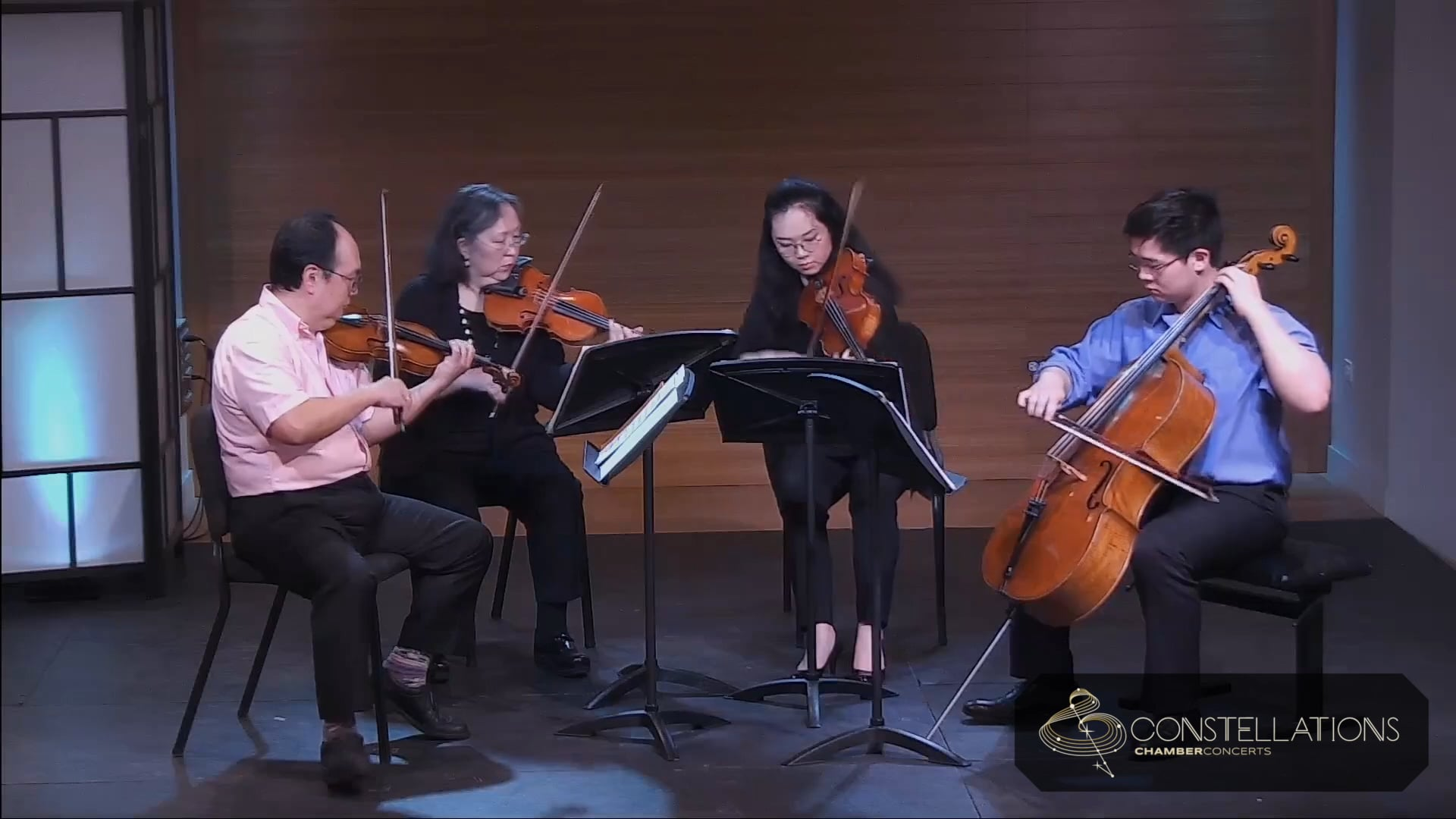 Chen Family Quartet: Florence Price - Five Folksongs in Counterpoint, Short'nin' Bread
