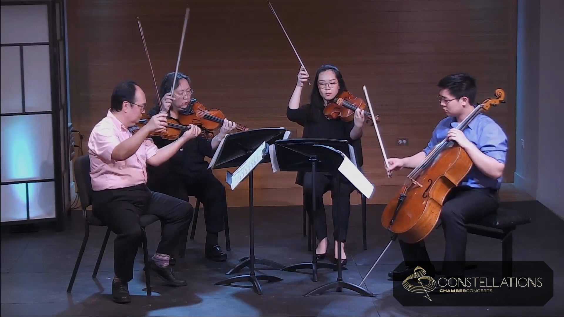 Chen Family Quartet: Florence Price - Five Folksongs in Counterpoint, Calvary