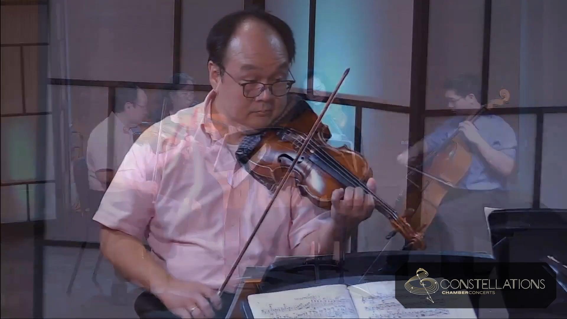 """Chen Family Quartet: Dvorak """"American"""" Quartet: I. Allegro ma non troppo"""