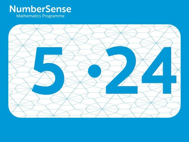 NumberSense Manipulating Numbers: Level 5, Task 24 (Gr.2, T.1, Wkbk 5)