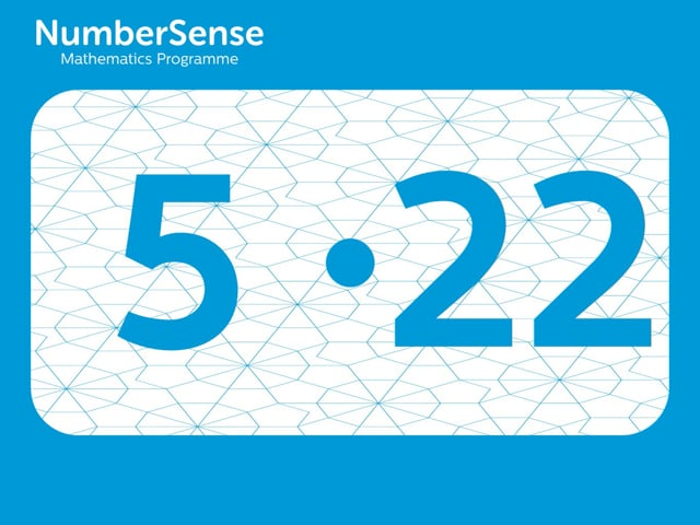 NumberSense Manipulating Numbers: Level 5, Task 22 (Gr.2, T.1, Wkbk 5)