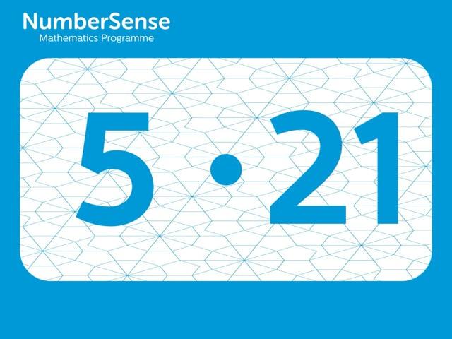 NumberSense Manipulating Numbers: Level 5, Task 21 (Gr.2, T.1, Wkbk 5)