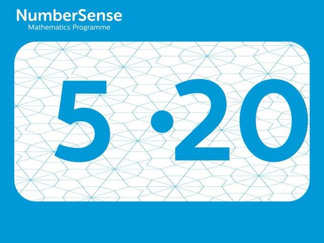 NumberSense Manipulating Numbers: Level 5, Task 20 (Gr.2, T.1, Wkbk 5)