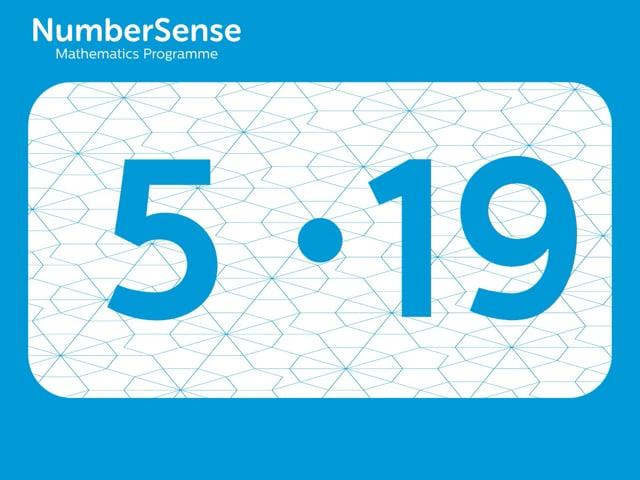 NumberSense Manipulating Numbers: Level 5, Task 19 (Gr.2, T.1, Wkbk 5)