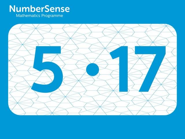 NumberSense Manipulating Numbers: Level 5, Task 17 (Gr.2, T.1, Wkbk 5)