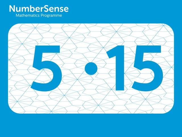 NumberSense Manipulating Numbers: Level 5, Task 15 (Gr.2, T.1, Wkbk 5)
