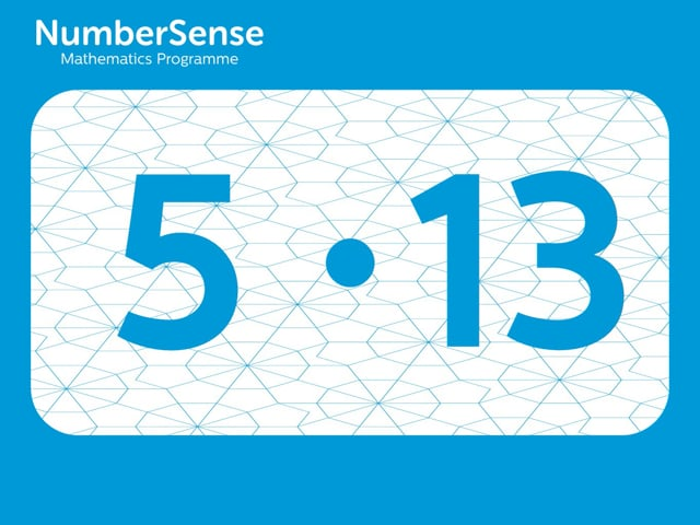NumberSense Manipulating Numbers: Level 5, Task 13 (Gr.2, T.1, Wkbk 5)