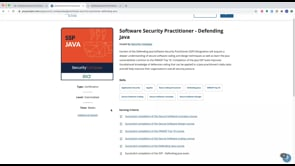 Software Security Practitioner (SSP) Badge Launch