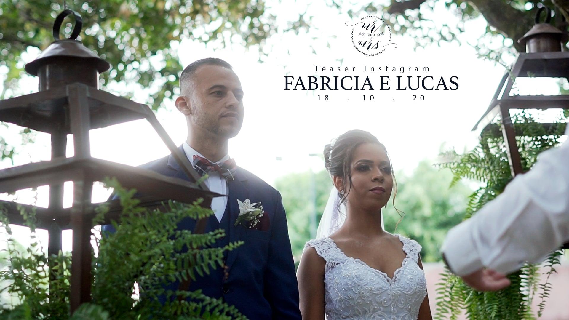 Teaser Instagram || Fabricia e Lucas