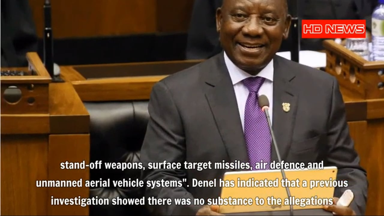 South Africa's National Security threatened with stolen weapon technology