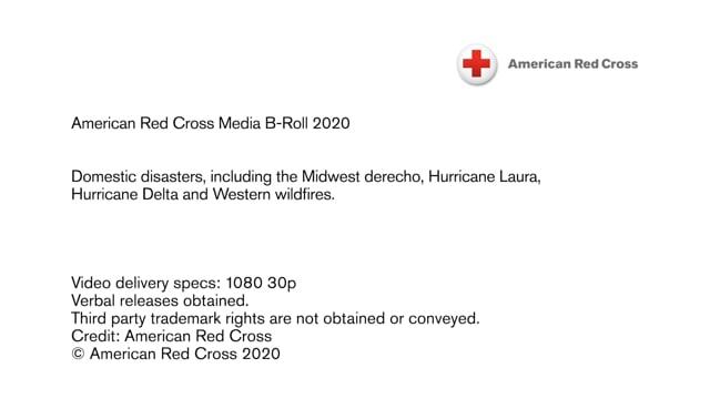 2020 Media B-Roll - Domestic disaster