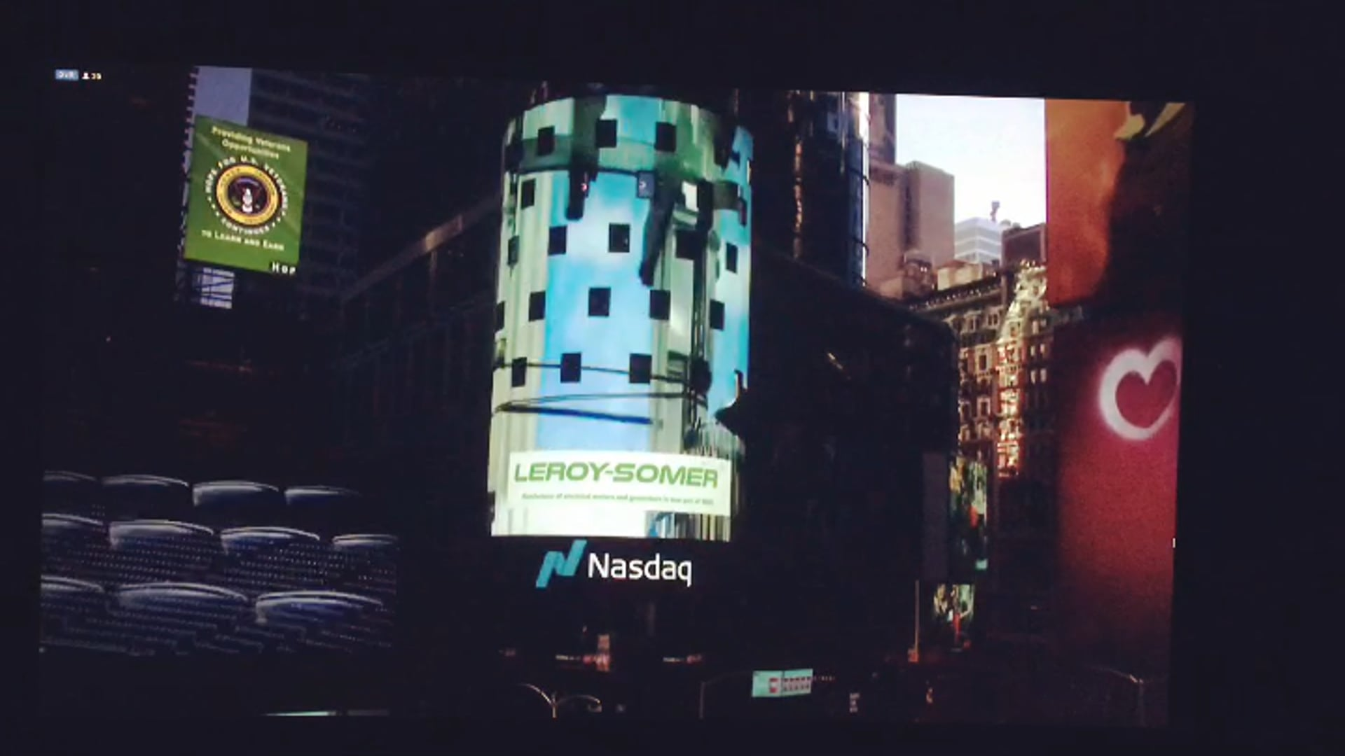 Times Square NYC - Leroy Somer Nidec