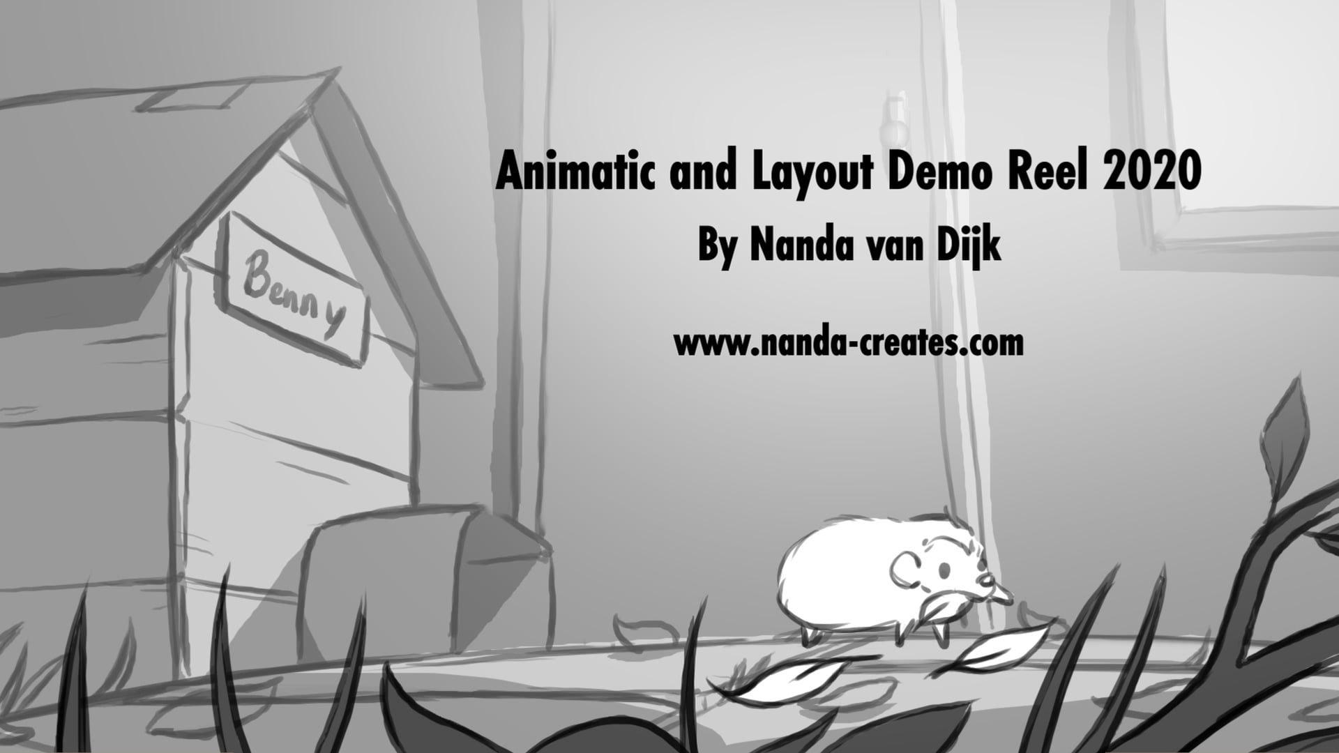 Animatic and Layout Demo Reel 2020 by Nanda van Dijk