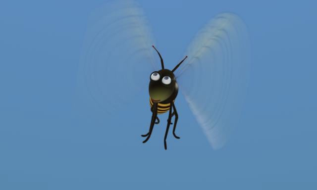 Flight of The Cartoon Bee
