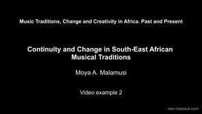 Malamusi – Video Example 2