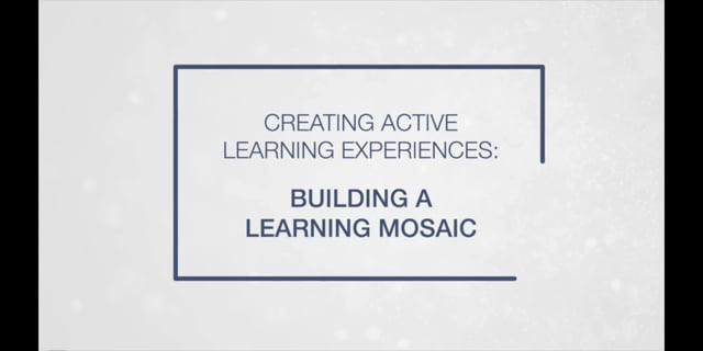Building a Learning Mosaic