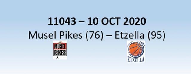 N1H 11043 Musel Pikes (76)-Etzella Ettelbrück (95) 10/10/2020