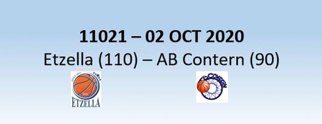 N1H 11021 Etzella Ettelbruck (110) - AB Contern (90) 02/10/2020