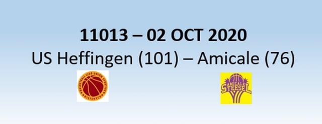 N1H 11013 US Heffingen (101) - Amicale Steinsel (76) 02/10/2020