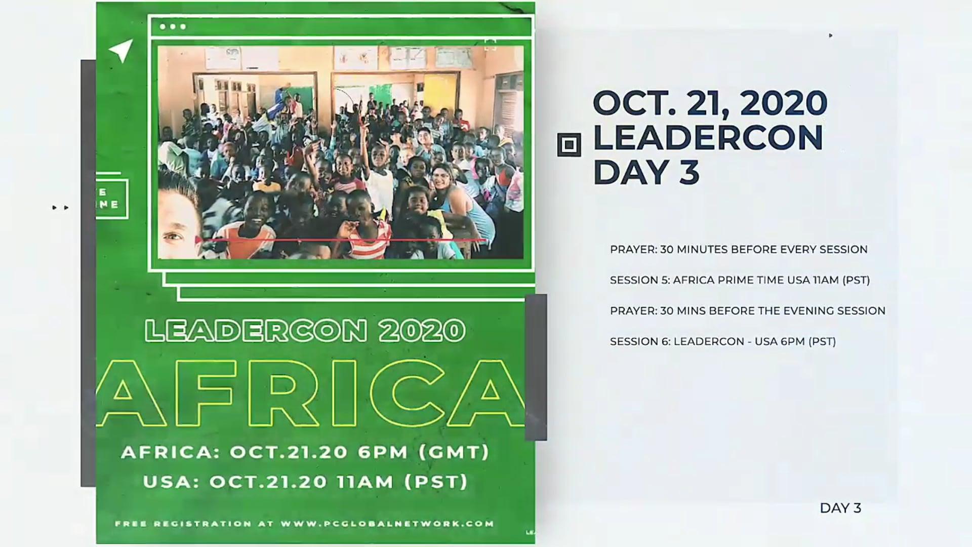 LeaderCon 2020 Session 3