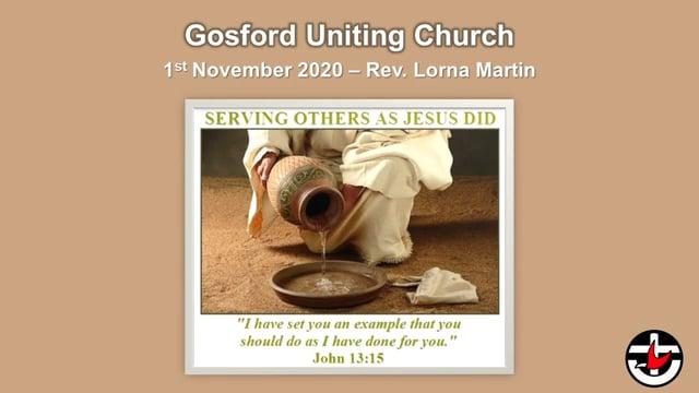 1st November 2020 - Rev. Lorna Martin
