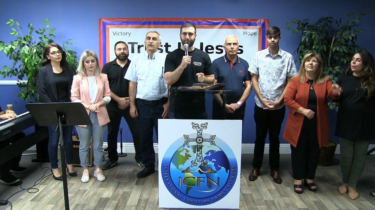Prayer for Artsakh   Armenian Lighthouse Church 10-16-2020